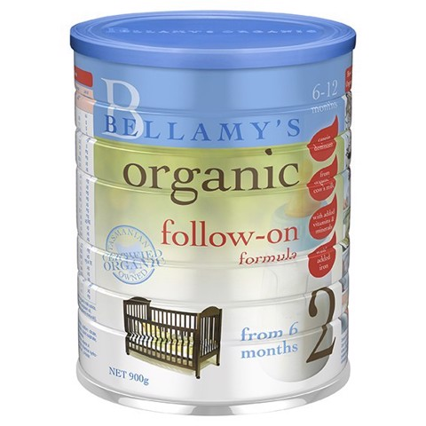 Bellamy's Organic Follow On Formula Stage 2