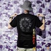 CHROME HEARTS HALF SLEEVE T-SHIRT HORSESHOE BLACK/WHITE