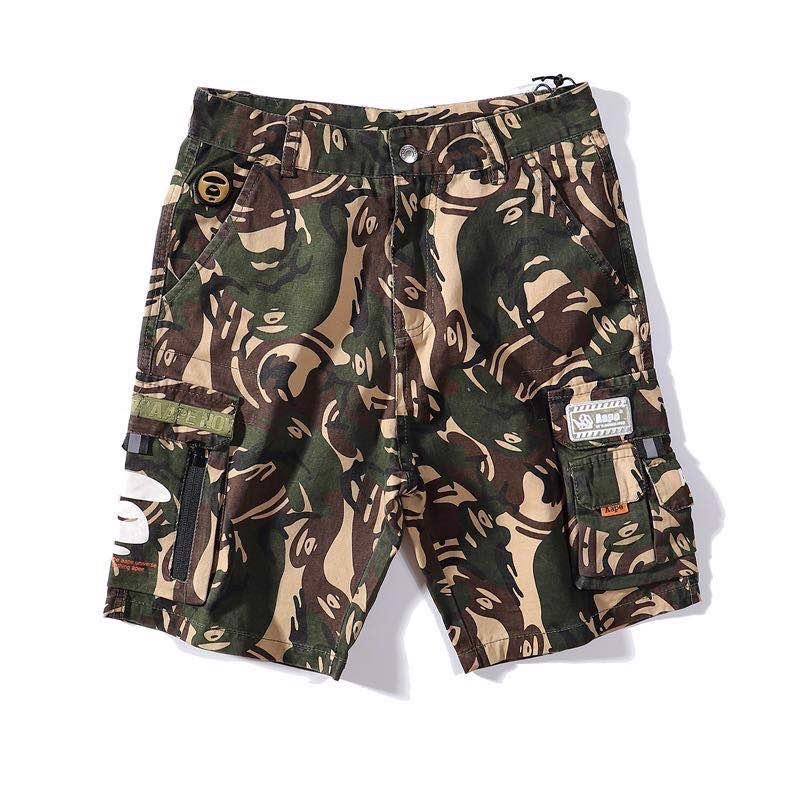 AAPE® NOW SHORTS WITH 2 POCKET