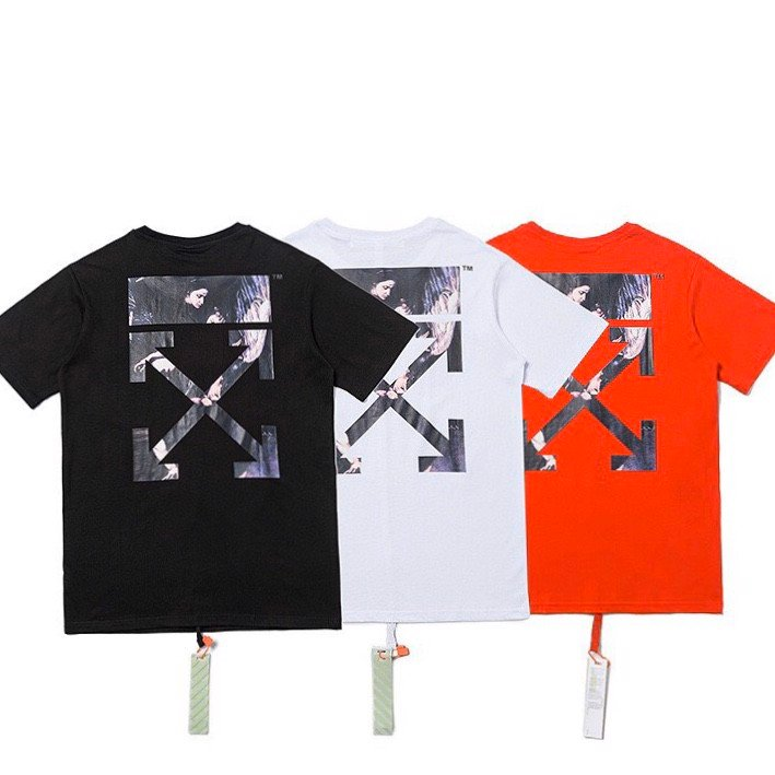 OFF WHITE CARAVAGGIO ARROWS S/S OVER T-SHIRT