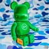 BEARBRICK FRAGMENT DESIGN x THE PARK-ING GINZA 400% GREEN