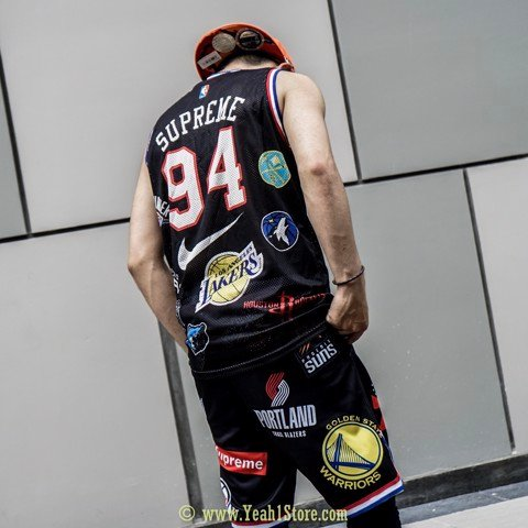 SUPREME x NIKE x NBA BASKETBALL FULLSET