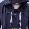 OFF WHITE REFRECTIVE LOGO HOODIE