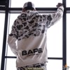 BAPE® SPACE CAMO WIDE SIDE ZIP PULLOVER HOODIE