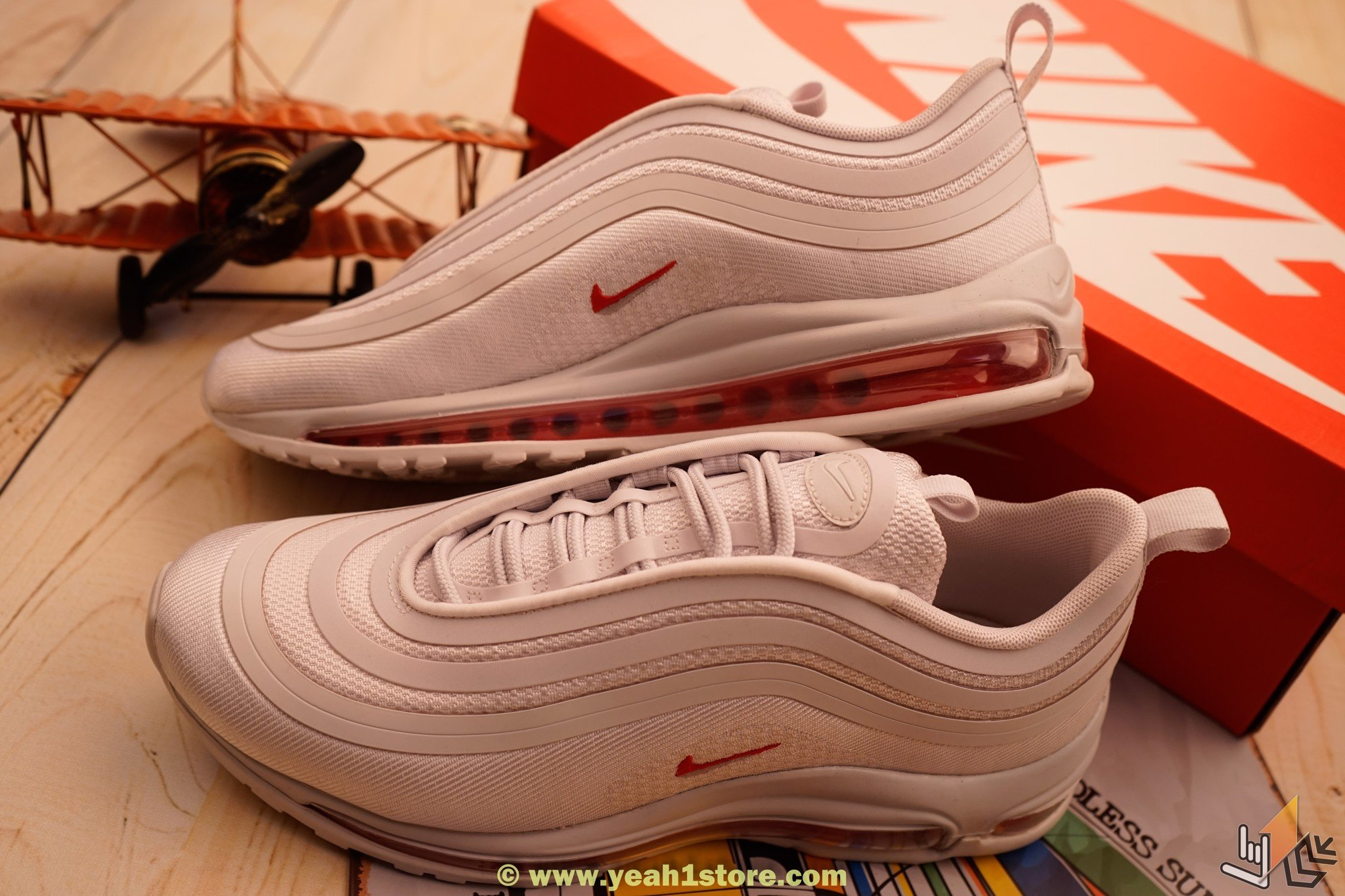 classic fit 8fdcc 5ba58 NIKÉ AIR MAX 97 WHITE