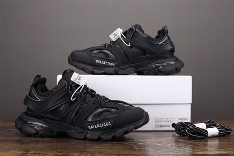 [JS Version] - Balenciaga Track Trainer 'Triple Black' - 542023