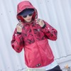 AAPE® BY * A BATHING APE RACER JACKET RED CAMO