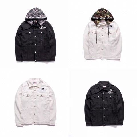 AAPE NOW BY* A BATHING APE - DENIM JACKET
