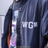 A BATHING APE® SHARK WGM BOMBER JACKET