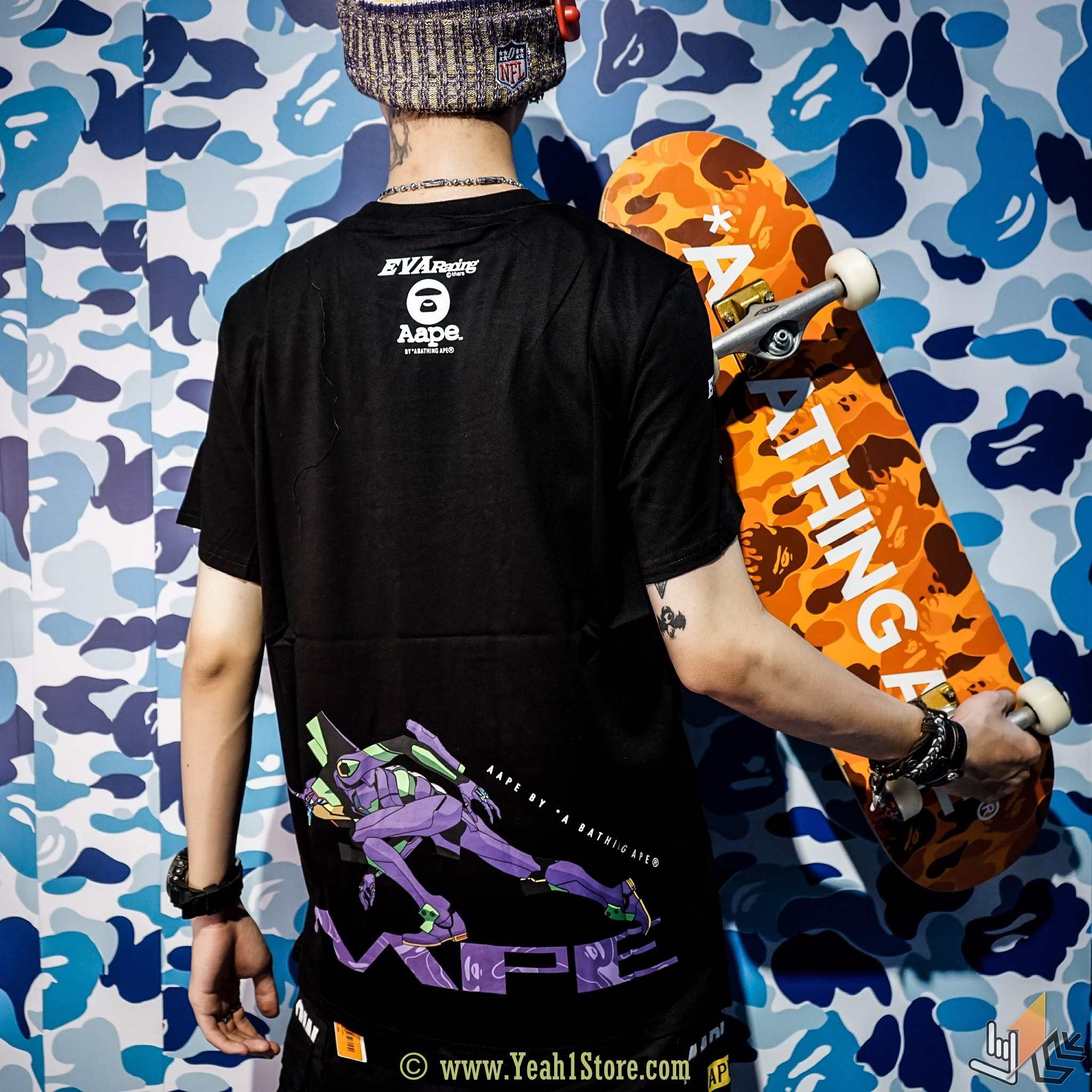 AAPE BY *A BATHING APE* x EVANGELION RACING
