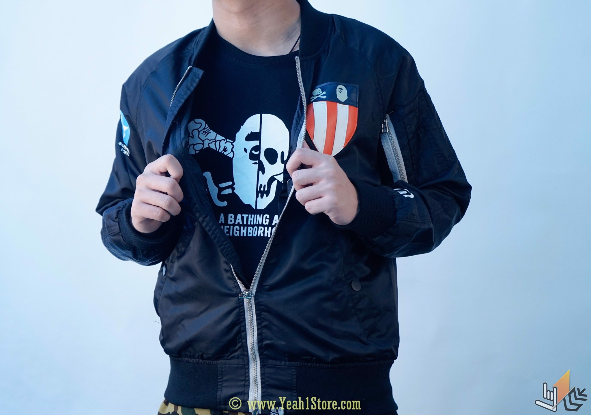 Jacket Bape X NEIGHBORHOOD