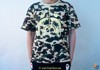 Bape Teen Shark Green Camo