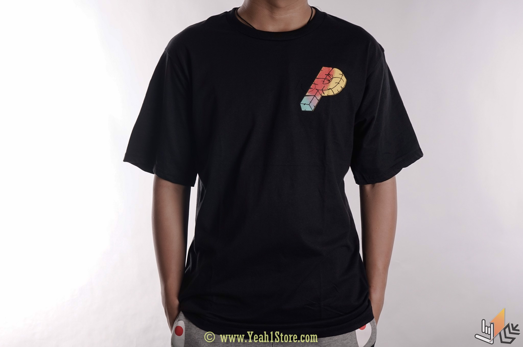 Tee Palace Multicolored Triangle