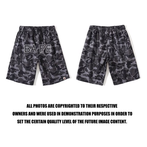 BAPE® BLACK CAMO SHORT