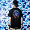CHROME HEARTS MULTICOLOR DAGGER & SCROLL SHORT SLEEVE T-SHIRT