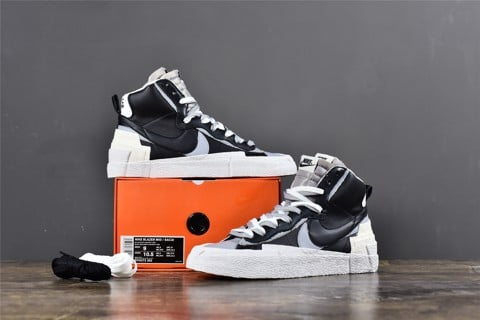 [TOP Version] - Sacai x Nike Blazer Mid - BV0072