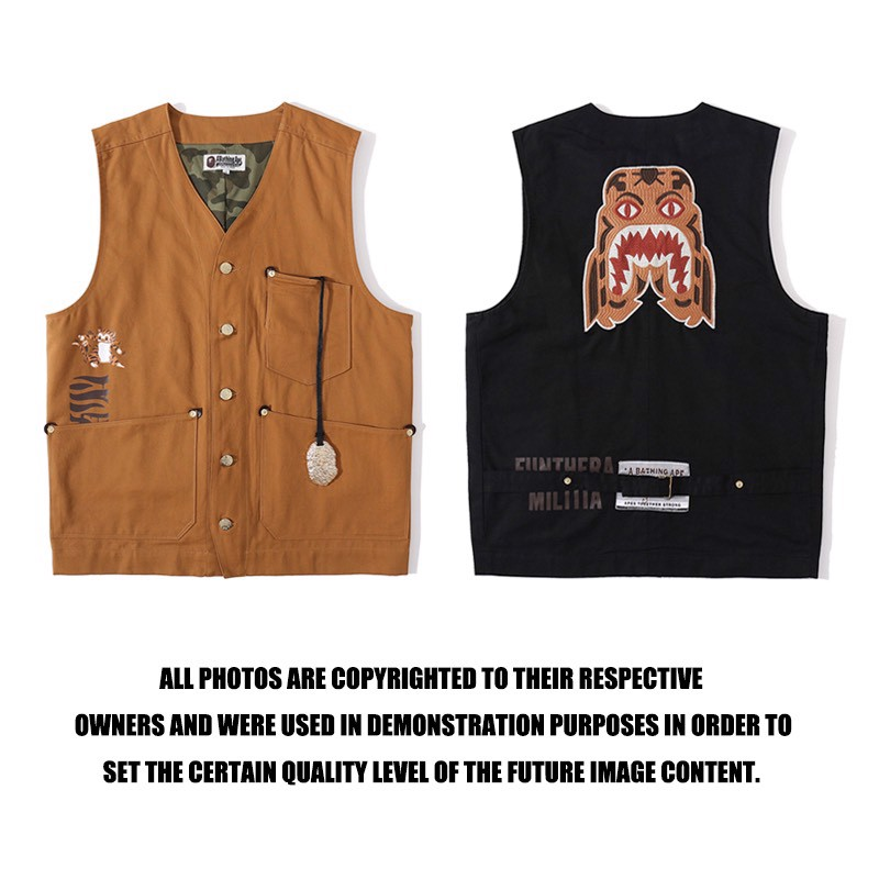 A BATHING APE® ABC CAMO WORKER VEST