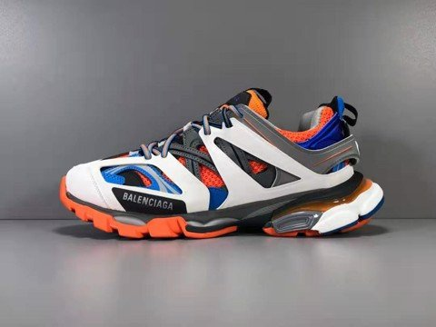 [JS Version] - Balenciaga Track Trainer 'Orange Grey' - 542023