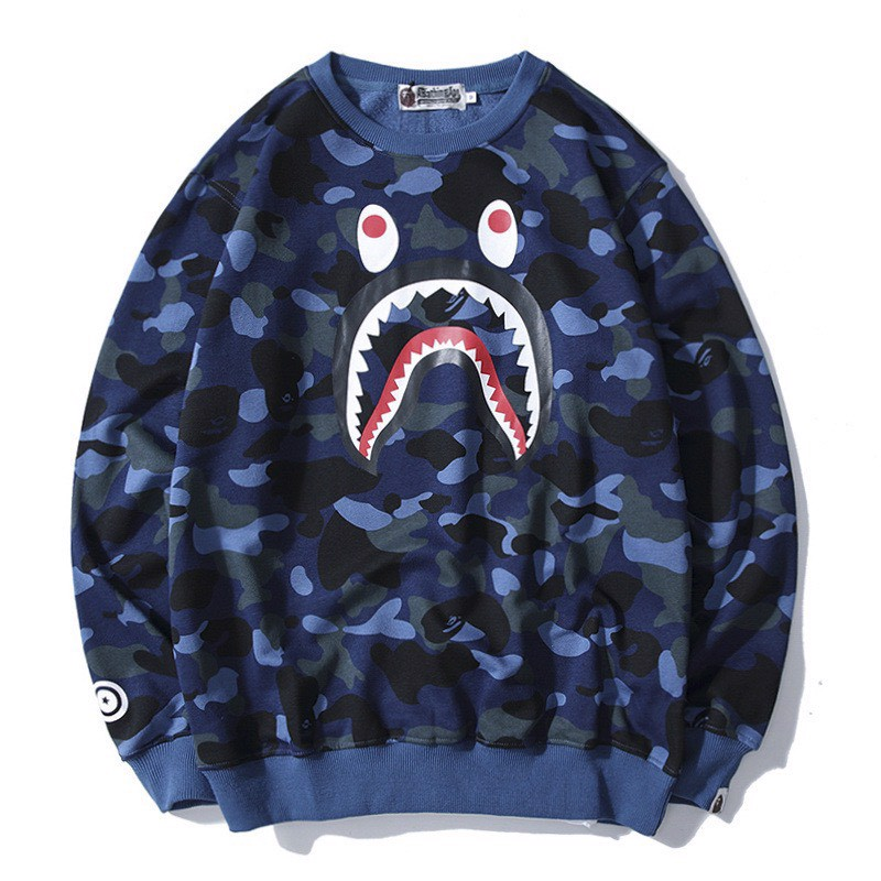 BAPE SWEATER CAMO SHARK WGM