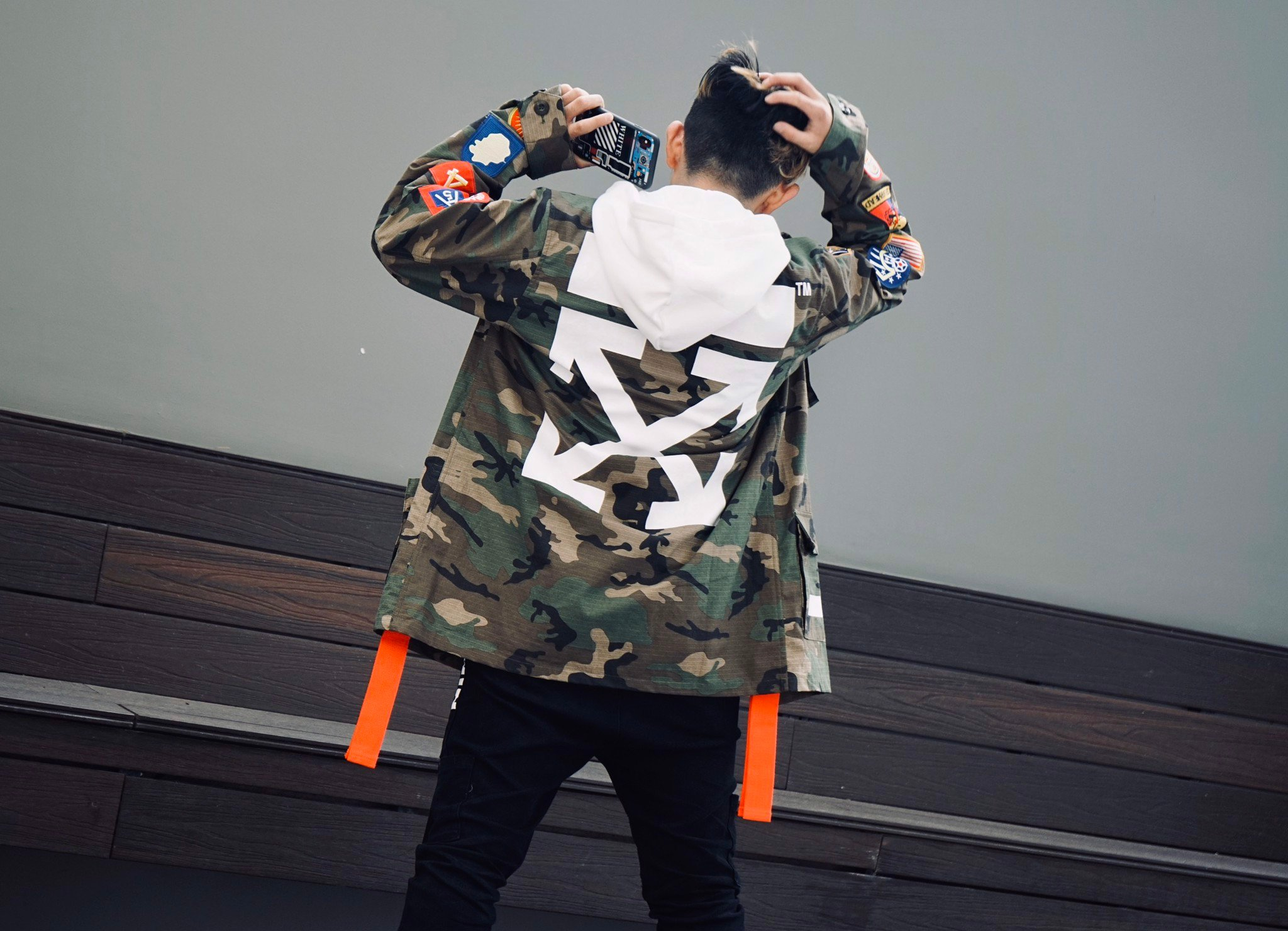 OFF-WHITE ARCHIVE FIELD JACKET