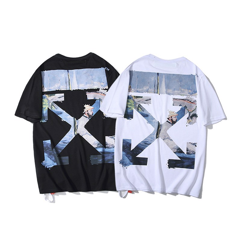 OFF-WHITE 19SS MULTICOLOR ARROW S/S T-SHIRT