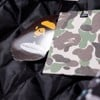 BAPE SHARK HEAR TIGER CAMO GOLDEN/SILVER STARRY SKY HOODED COAT