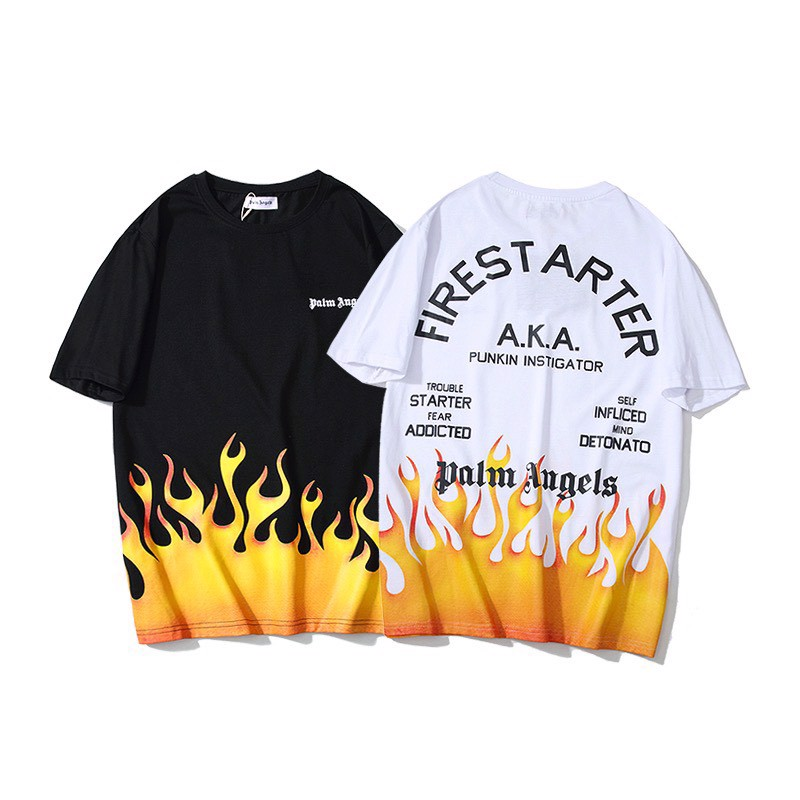 PALM ANGELS FIRESTARTER CLASSIC T-SHIRTS