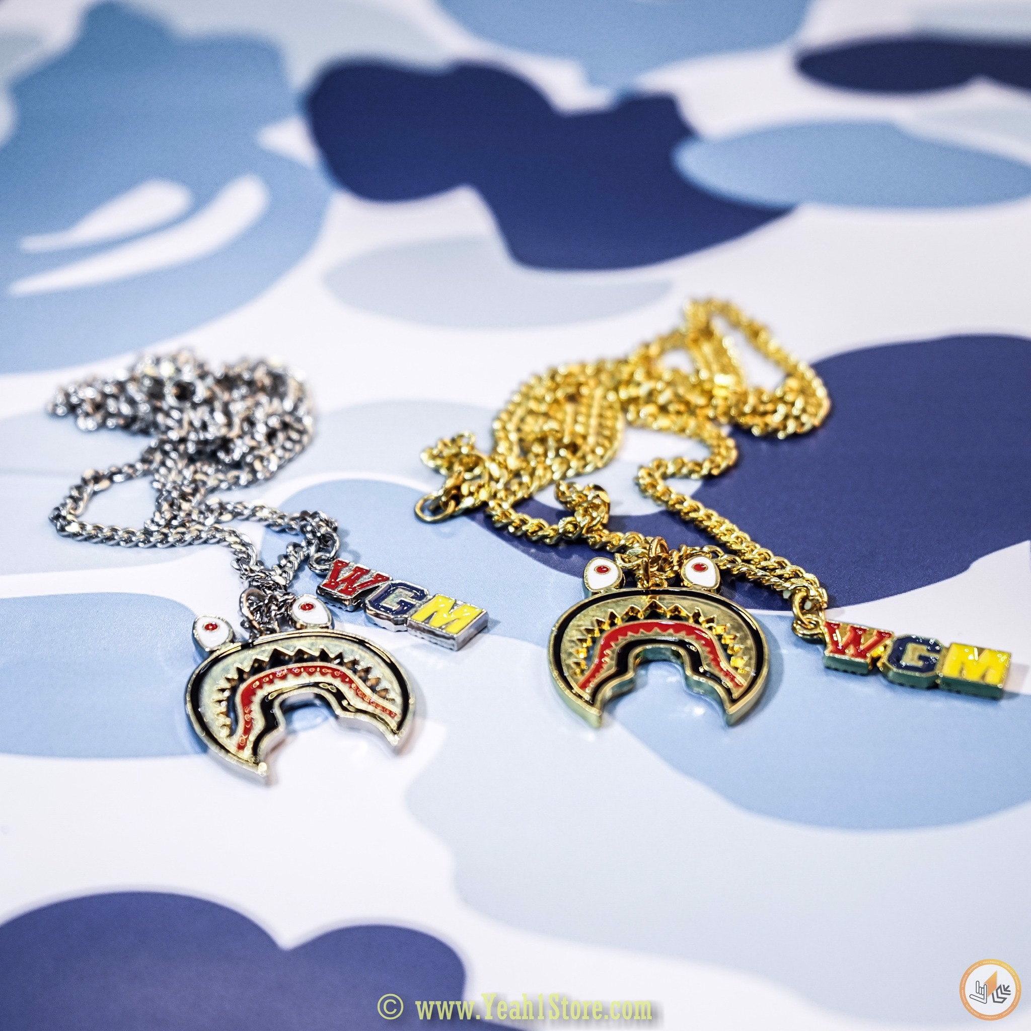 BAPE® WGM NECKLACE