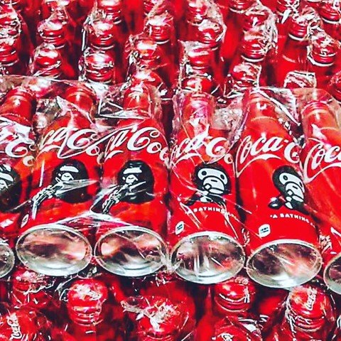 BAPE® x Cocacola Limited New Seal