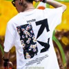 OFF-WHITE FLOWER T-SHIRT SS2020