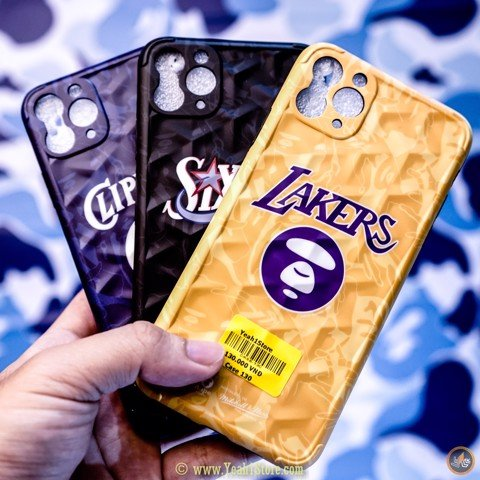 BAPE® x N.B.A CASE IPHONE