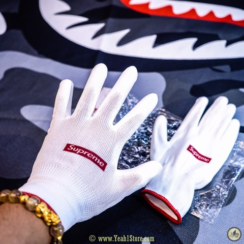 Supreme Rubberized Gloves - Bao Tay Supreme