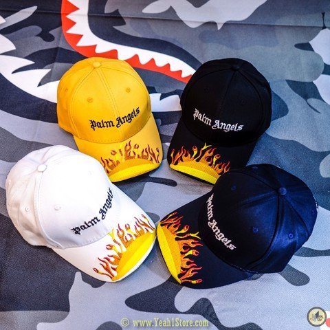 Palm Angels Burning Cap