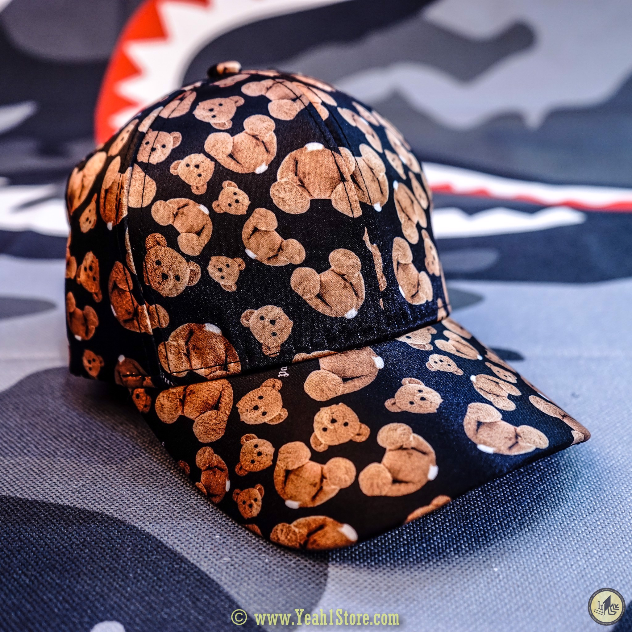 Palm Angels Kill The Bear Logo Cap