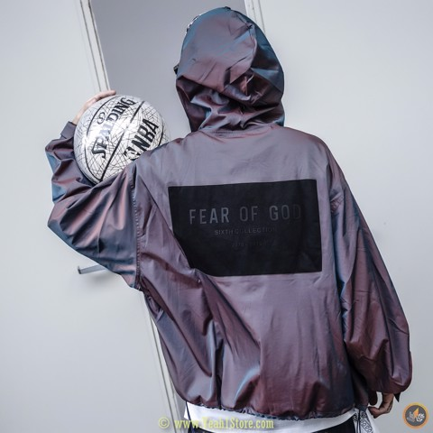 FEAR OF GOD Nylon Iridescent Full-Zip Jacket
