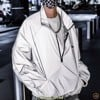 FEAR OF GOD ESSENTIALS Track Jacket Silver Reflective