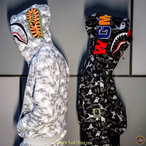 BAPE® Digital Camo Camouflage Jacket