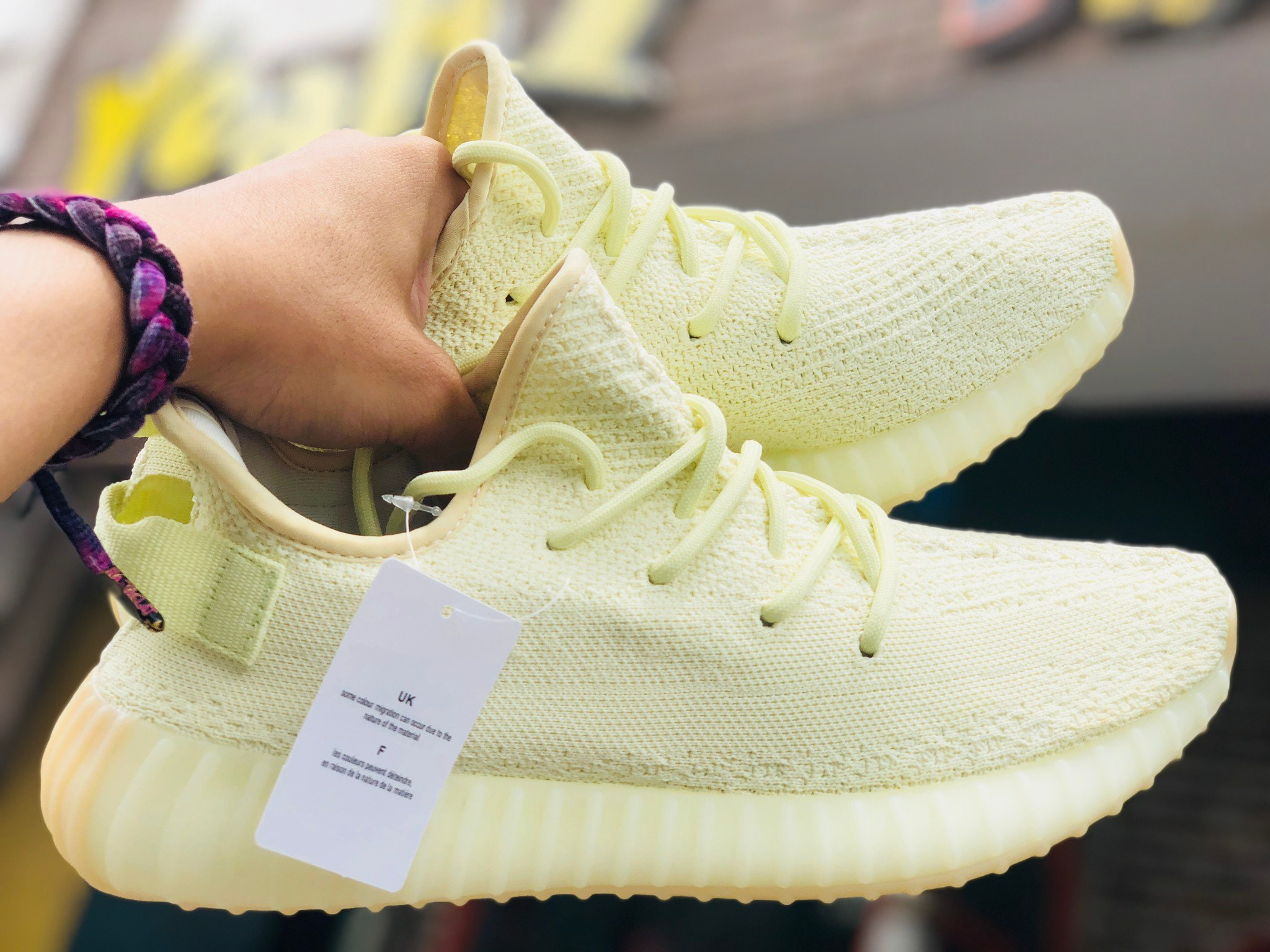 DAS YEEZY BOOST 350 V2 BUTTER (REPLICA 1:1)