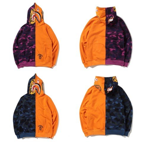 A BATHING APE® TIGER SHARK JACKET