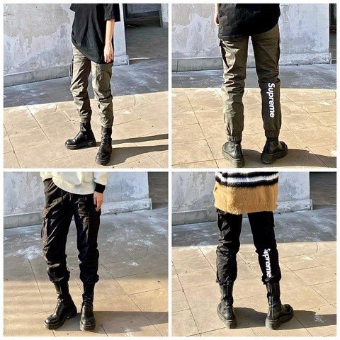 Supreme Pocket Jogger Pants