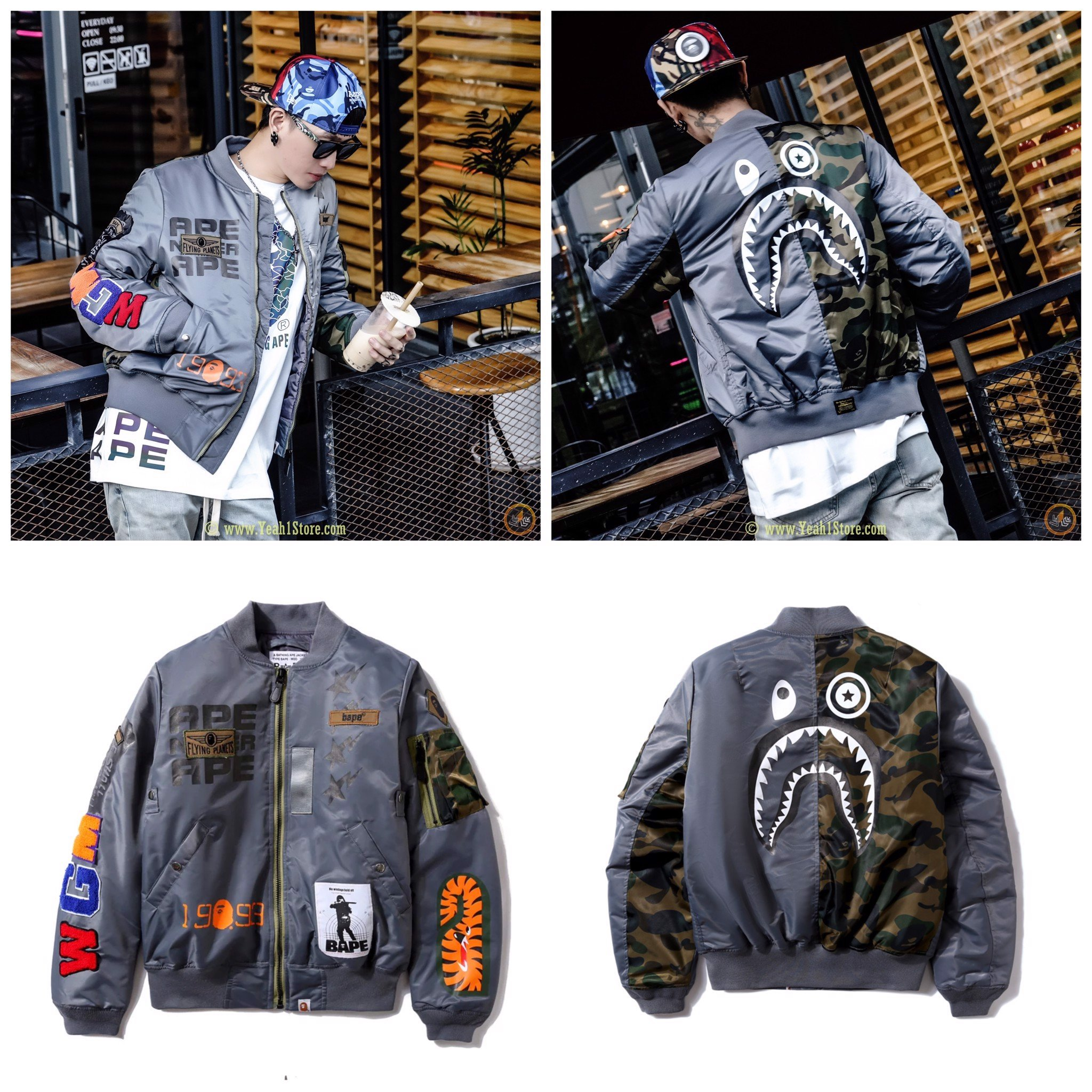 BAPE® x Alpha Industries MA-1 Jacket