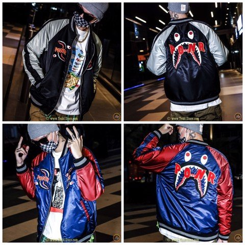 BAPE® Shark Souvenir Jacket