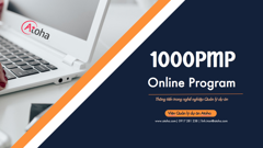 1000PMP®PROGRAM - Khóa luyện thi online PMP® - pass on the 1st try!