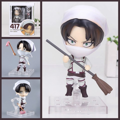 Mô hình Nendoroid #417 - Levi: Cleaning Ver - anime Attack on Titan