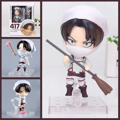 Mô hình Nendoroid 417 - Levi: Cleaning Ver - anime Attack on Titan