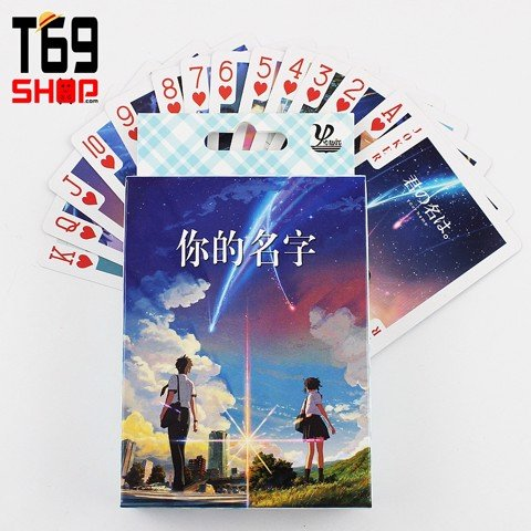 Bài tây anime Your Name