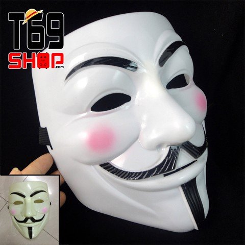 Mặt nạ Guy Fawkes - Hacker Anonymous