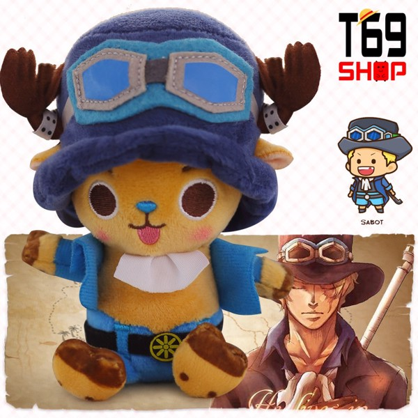 Gấu bông Chopper cosplay Sabo - anime One Piece