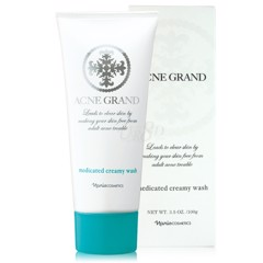 Sữa rửa mặt Naris Acne Grand Medicated Creamy Wash