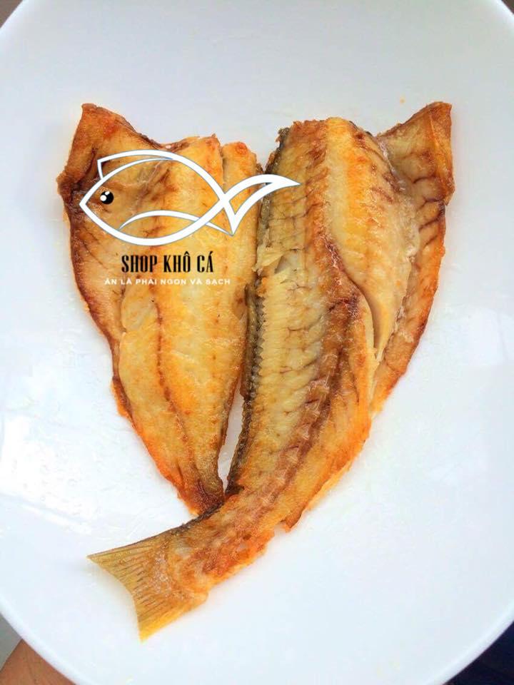 Khô cá đù 1 nắng xẻ - Loại Trung bao nhiêu 1kg? Shop khô cá bán khô cá đù xẻ một nắng phi lê ngon, uy tín